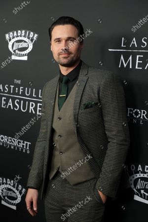 Editorial image of World Premiere of Roadside Attractions/Foresight Limited's THE LAST FULL MEASURE, Los Angeles, USA - 17 January 2020