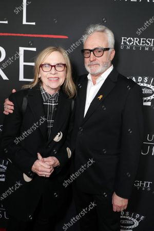 Stock Photo of Amy Madigan and Bradley Whitford at the World Premiere of Roadside Attractions/Foresight Limited's THE LAST FULL MEASURE at the Arclight Hollywood on January 16, 2020. The film is only in theatres nationwide on January 24, 2020.