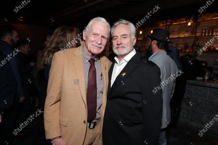Dale Dye and Bradley Whitford at the World Premiere of Roadside Attractions/Foresight Limited's THE LAST FULL MEASURE at the Arclight Hollywood on January 16, 2020. The film is only in theatres nationwide on January 24, 2020.