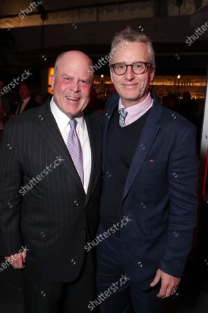 Secretary Whit Peters and Linus Roache at the World Premiere of Roadside Attractions/Foresight Limited's THE LAST FULL MEASURE at the Arclight Hollywood on January 16, 2020. The film is only in theatres nationwide on January 24, 2020.