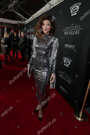 Blanca Blanco at the World Premiere of Roadside Attractions/Foresight Limited's THE LAST FULL MEASURE at the Arclight Hollywood on January 16, 2020. The film is only in theatres nationwide on January 24, 2020.