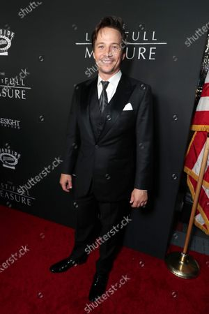 Travis Aaron Wade at the World Premiere of Roadside Attractions/Foresight Limited's THE LAST FULL MEASURE at the Arclight Hollywood on January 16, 2020. The film is only in theatres nationwide on January 24, 2020.