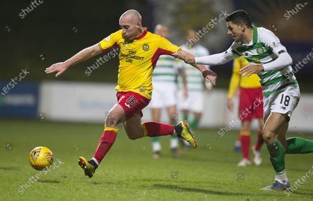 Editorial image of Partick Thistle v Celtic, William Hill Scottish Cup, Fourth Round, Football, Firhill Stadium, Glasgow, Scotland, UK - 18 Jan 2020