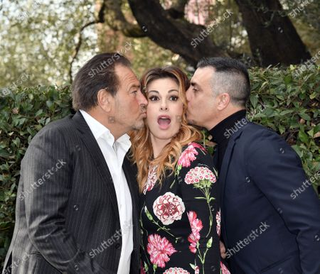 Stock Picture of Sebastiano Somma, Vanessa Incontrada, Simone Montedoro