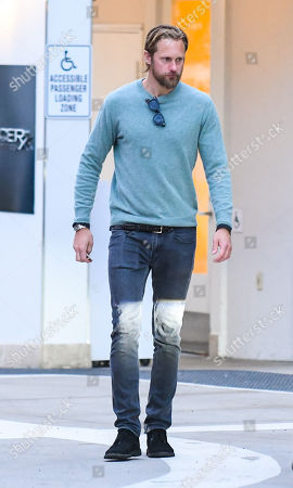 Editorial photo of Alexander Skarsgard out and about, Los Angeles, USA - 16 Jan 2020