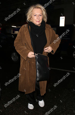 Editorial image of Jennifer Saunders out and about, London, UK - 17 Jan 2020