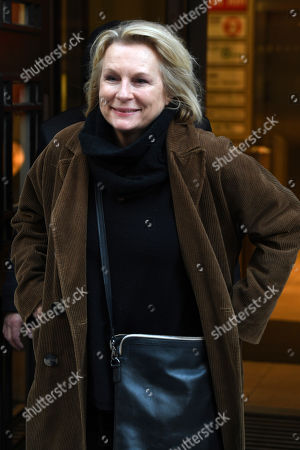 Editorial picture of Jennifer Saunders out and about, London, UK - 17 Jan 2020