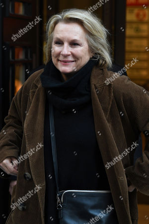 Jennifer Saunders at the BBC Radio 2 Studios