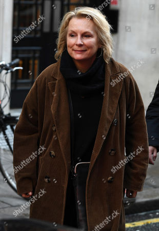 Editorial photo of Jennifer Saunders out and about, London, UK - 17 Jan 2020