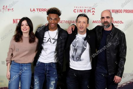 Editorial picture of Photocall of the Spanish film 'Adu', Madrid, Spain - 17 Jan 2020