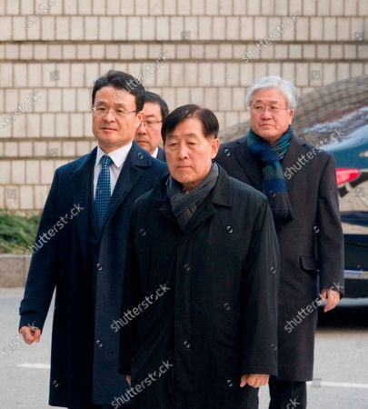 Editorial picture of Samsung Electronics Vice Chairman Lee Jae-yong in court on corruption charges, Seoul, South Korea - 17 Jan 2020