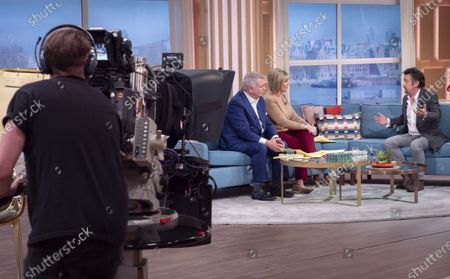Eamonn Holmes and Ruth Langsford with Richard Hammond