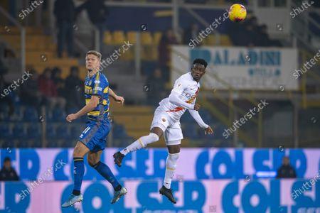 Editorial image of Parma v Roma, Coppa Italia football match, Ennio Tardini Stadium, Parma, Italy - 16 Jan 2020
