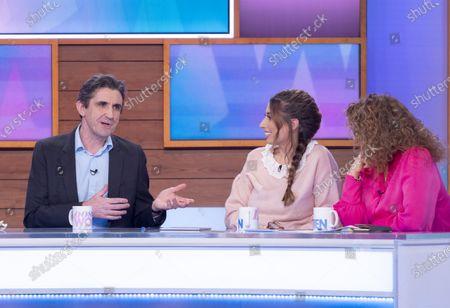 Stephen McGann, Stacey Solomon and Nadia Sawalha
