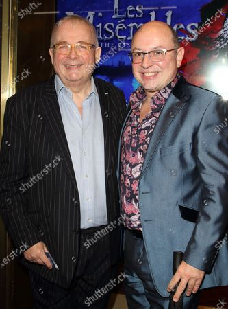 Stock Picture of Christopher Biggins and Neil Sinclair