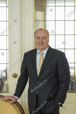 Prince Carlos of Bourbon-Parma during a family Christmas card photo session
