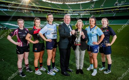 Editorial picture of Student Sport Ireland Rugby Cups Launch, Aviva Stadium, Dublin - 17 Jan 2020