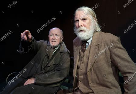 Editorial photo of 'The Old Tune' Play as part of the Beckett Triple Bill performed at the Jermyn St Theatre, London, UK - 16 Jan 2020