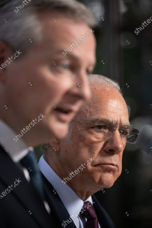 Bruno Le Maire and Jose Angel Gurria