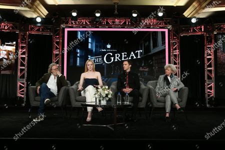 Editorial photo of 'The Great' TV Show, HULU, TCA Winter Press Tour, Panels, Los Angeles, USA - 17 Jan 2020