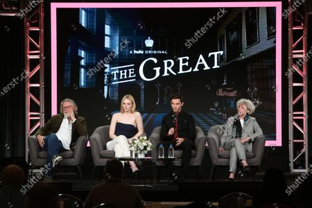 Editorial picture of 'The Great' TV Show, HULU, TCA Winter Press Tour, Panels, Los Angeles, USA - 17 Jan 2020