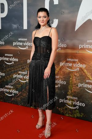 Isa Briones poses during the 'Star Trek: Picard' fan screening at the Zoo Palast cinema in Berlin, Germany, 17 January 2020.