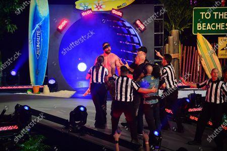 Jonathan Good performs at the AEW Present Dynamite Bash At The Beach at Watsco Center at the University of Miami