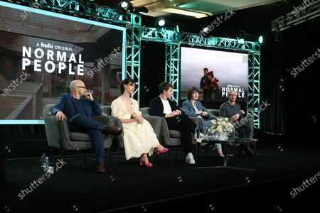 Editorial picture of 'Normal People' TV Show, HULU, TCA Winter Press Tour, Panels, Los Angeles, USA - 17 Jan 2020
