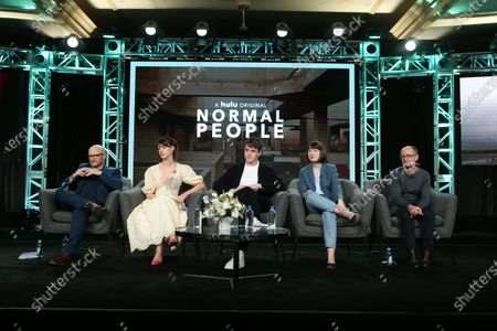 Lenny Abrahamson, Daisy Edgar-Jones, Paul Mescal, Sally Rooney and Ed Guiney