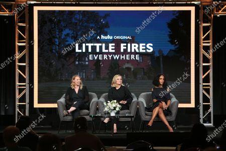 Liz Tigelaar, Reese Witherspoon and Kerry Washington