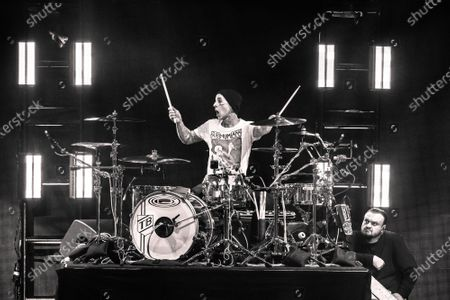 Travis Barker of Blink 182