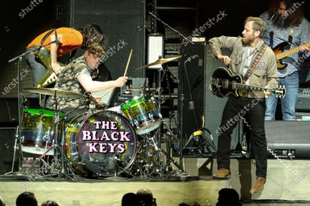 Stock Photo of The Black Keys - Patrick Carney and Dan Auerbach