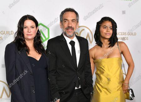Emma Tillinger Koskoff, Todd Phillips and Zazie Beetz