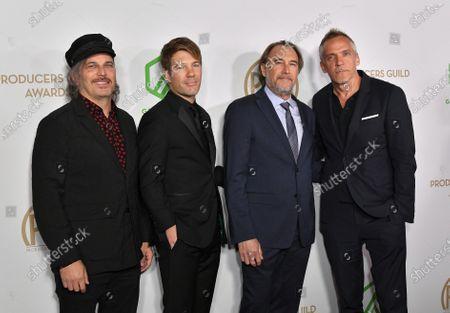 Nathan Ross, Per Saari, Greg Fienberg and Jean-Marc Vallee