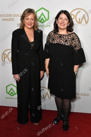 Pippa Harris and Jayne Ann Tenggren