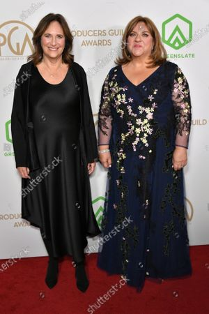 Stock Image of Lucy Fisher and Gail Berman
