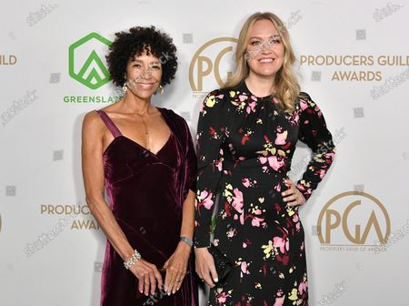 Stock Image of Stephanie Allain and Lynnette Howell Taylor