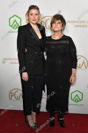 Greta Gerwig and Amy Pascal