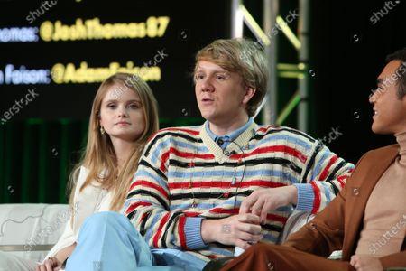 Kayla Cromer and Josh Thomas