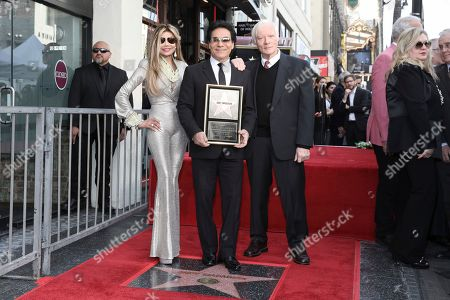 La Toya Jackson, Andy Madadian, Miles Copeland. La Toya Jackson, Andy Madadian, and Miles Copeland celebrate Andy Madadian's Hollywood Walk of Fame star, in Los Angeles. The popular Armenian-Iranian-American musician received the 2,684th Star in the category of Recording