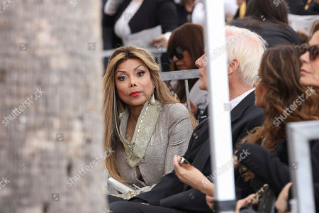 La Toya Jackson attends the Andy Madadian's Hollywood Walk of Fame star ceremony, in Los Angeles. The popular Armenian-Iranian-American musician received the 2,684th Star in the category of Recording