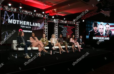 Editorial photo of 'Motherland: Fort Salem' TV show, Freeform, TCA Winter Press Tour, Panels, Los Angeles, USA - 17 Jan 2020