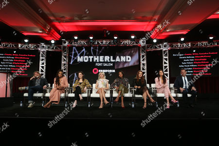 Eliot Laurence, Demetria McKinney, Amalia Holm, Taylor Hickson, Ashley Nicole Williams, Jessica Sutton, Lyne Renee and Kevin Messick