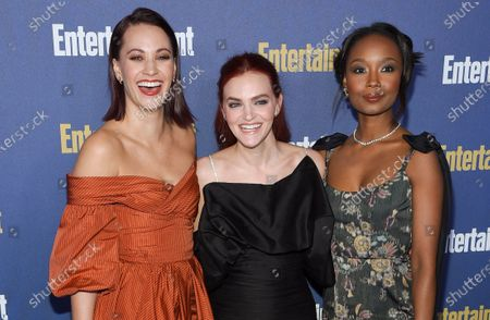 Kristen Gutoskie, Madeline Brewer and Ashleigh LaThrop