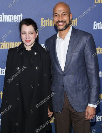 Elisa Key and Keegan-Michael Key