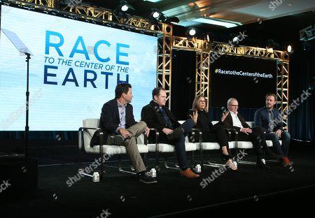 Kirk Drham, Darren Bunkley, Elise Doganieri, Bertram van Munster and Josh Gitersonke