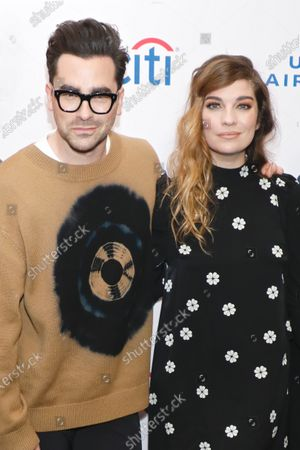 Daniel Levy and Annie Murphy