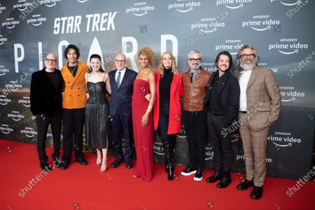 Editorial image of 'Star Trek: Picard' TV show screening, Berlin, Germany - 17 Jan 2020