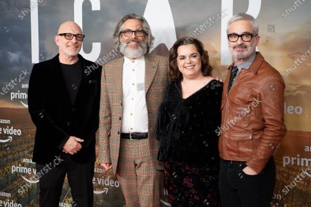 Akiva Goldsman, Michael Chabon, Kirsten Beyer and Alex Kurtzman