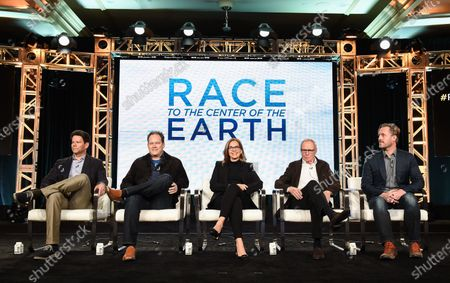 Editorial photo of 'Race to the center of the Earth' TV show, National Geographic, TCA Winter Press Tour, Panels, Los Angeles, USA - 17 Jan 2020